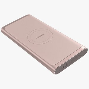 3D Samsung Wireless Battery Pack Martian Pink