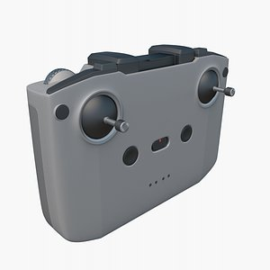 3D DJI Mavic AIR 2 Remote Controller