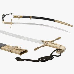 Mameluke Sword 3D model