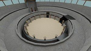 3D Colosseum Arena