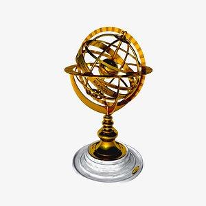 3D orizzonte equatore eclittica