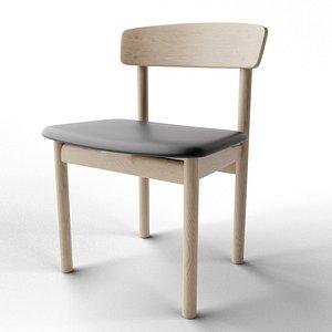3D Mogensen 3236 Chair model