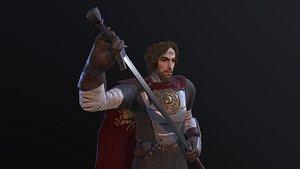 3D games rpg armor model
