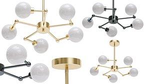 3D model chandelier blomma london light