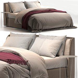 3D model Kevin Felis bed