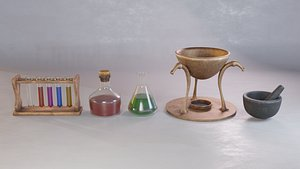 set potions model