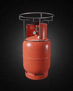 3D modelling lpg gas tank