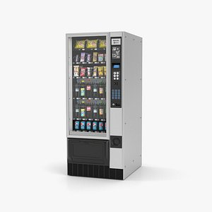 Snack and Drink Vending Machine 3D
