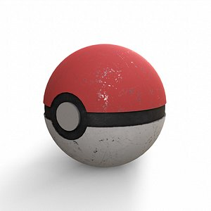 pokeball poke 3D model