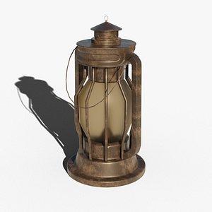 Oil Lamp model