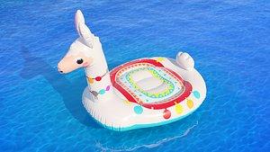Intex mega llama inflatable island model