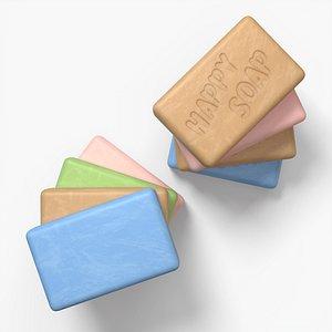 pbr soap 3D model