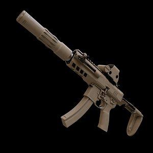 submachine gun model