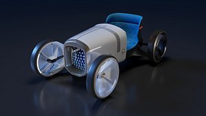 3D vision simplex car concept