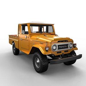 toyota pickup 3D model