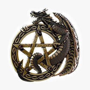 Pentagram  3 3D model