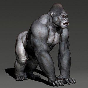 animal gorilla 3D
