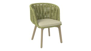 3D model BAGEL DINING ARMCHAIR by Florida Seating