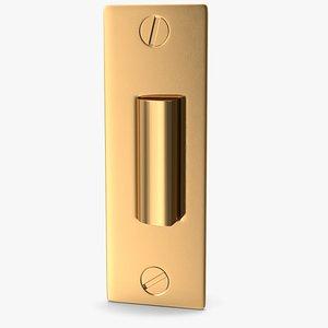 3D lock golden model