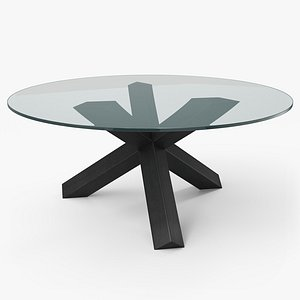 3D model cassina la rotonda table