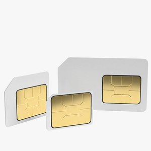 3D sim cards ar