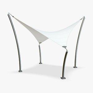 Tensile Structures details 3D