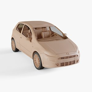 2010 Fiat Punto Evo 3D