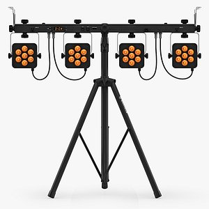 3D Chauvet DJ 4Bar Flex T Effect Lights