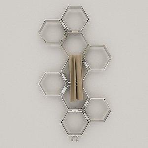 3D model honeycomb aeon