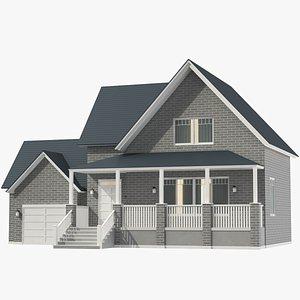 Classic House 04 model