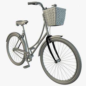 3D bicycle basket dutch