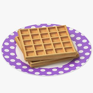 3D waffle plate
