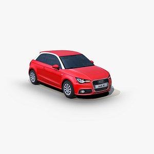 Audi A1 2010 3D