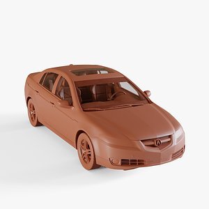 coupe car auto 3D