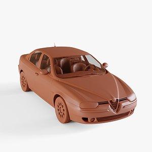 alfa-romeo 156 1997 3D