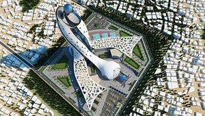 3D skyscraper - project