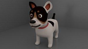 Dog Cartoon Rigged model