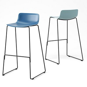 Pato Stool by Fredericia 3D