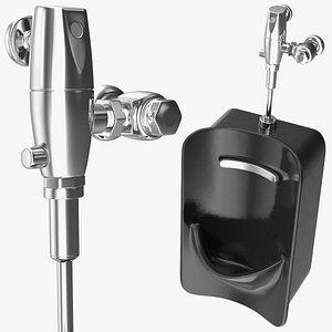 spud urinal 3D model