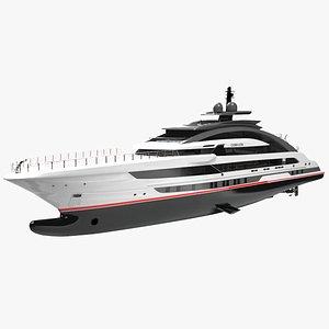 3D Cosmos Luxury Yacht Dynamic Simulation model