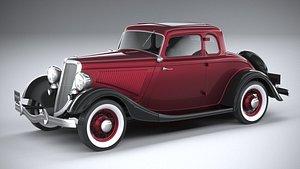 coupe 1934 3D model