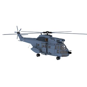 helicopter aircraft 3D