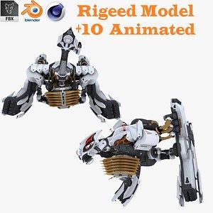 Cyber Pegasos 3D 3D model