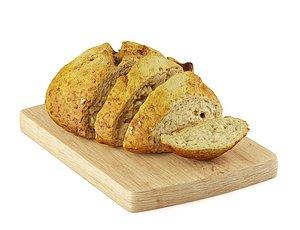 3D model Bread bread basket breakfast toast toast toast cake bread food cake cake cake cake cake cake cake ca