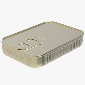 3D tin sardine