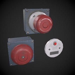 Fire Alarm Set model