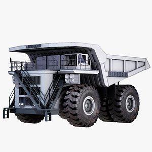 dump truck liebherr t282 3D model