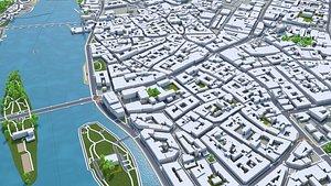 Prague Praha Czechia 3D model