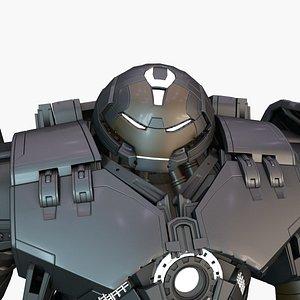 3D Dark HulkBuster