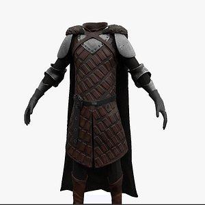 Robb Stark clothes 3D model